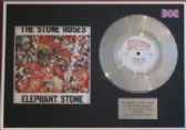 "THE STONE ROSES - 7"" Platinum Disc+cover- ELEPHANT STONE"